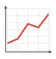 Growth Chart vector image