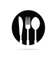 kitchen equipment black vector image