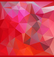 abstract irregular red polygon background vector image