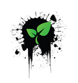 Grunge recycling vector image