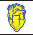 heart modern element vector image