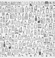Household chemicals icons vector image