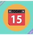 Calendar Icon - Flat design vector image