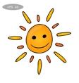 Fun sun vector image