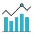 Growth Stock Icon vector image