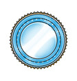 badge label decoration stamp template vector image