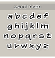 Fonts vector image vector image