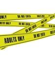 Police Stripes vector image