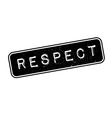 Respect rubber stamp vector image