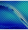 Beautiful blue mosaic vector image vector image