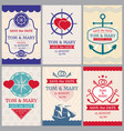 nautical congratulations backgrounds for vector image
