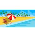 Vacation and travel concept vector image