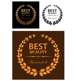 Best Quality Guaranteed labels vector image vector image