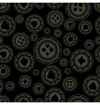 Dark casino chips pattern vector image