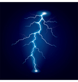 lightning isolated vector image