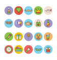 Celebration and Party Icons 5 vector image