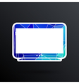 tv icon flatscreen hd lcd vector image
