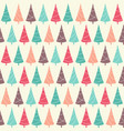 winter holidays seamless pattern with christmas vector image