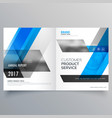 Magazine cover page template layout with abstract vector image