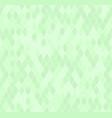 green diamond pattern seamless vector image