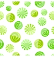 green mint striped candy seamless pattern vector image vector image