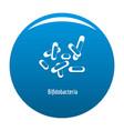 bifidobacteria icon blue vector image