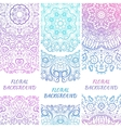 Tribal ethnic vintage banners for your cute vector image