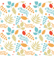 colorful floral seamless vector image