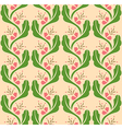 Flower Decoration Pattern 1 vector image vector image