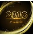 Happy New 2016 Year Print vector image