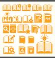 Book set vector image