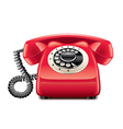 retro phone isolated vector image