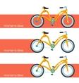 Womens Bike Two vector image