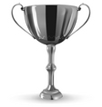 winner goblet vector image vector image