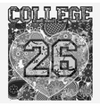 New York T-shirt fashion Typography vector image vector image