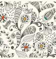 Spring seamless wallpaper spring floral pattern vector image