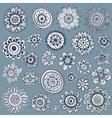 Set of beautiful ornaments vector image vector image