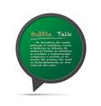 3D bubble talk frame Design element EPS10 vector image