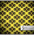 flower golden cross vintage geometric seamless vector image