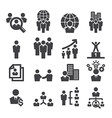 human resources icon vector image vector image