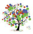 art tree vector image vector image
