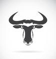 image of an wildebeest head design vector image