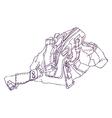 Sketch vector image