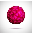 3D of sphere vector image