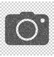 Photo Camera Grainy Texture Icon vector image