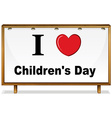 Childrens Day vector image vector image