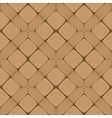 Beige and Brown Rectangle Seamless Pattern vector image