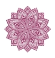 Mandala Decorative floral pattern vector image vector image