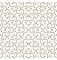 Floral seamless pattern Black and white colors vector image vector image