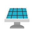 solar panel electricity vector image